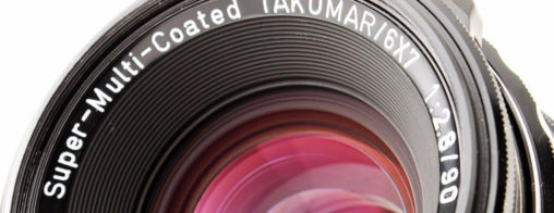 Super-Multi-Coated TAKUMAR/6X7 90mm F2.8 Leaf Shutter