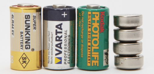Sunking 4LR44, Varta 4SR44, Kodak PX28 and 4pcs GP LR44