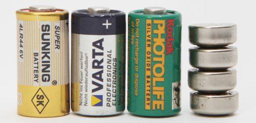 Sunking 4LR44, Varta 4SR44, Kodak PX28, and 4pcs of GP LR44