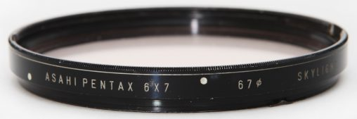 Pentax 6X7 Bayonet mount filter 67mm skylight