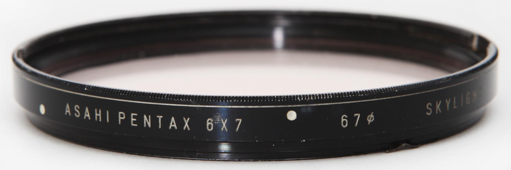 Pentax 6X7 Bayonet mount filter 67mm skylight