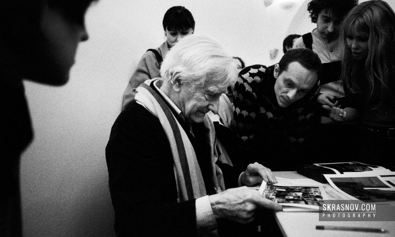 Marc Riboud, photographer and former vice-president of Magnum Photos © Sasha Krasnov Photography