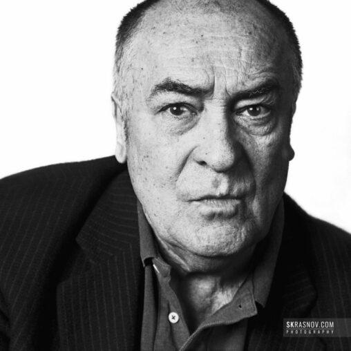 Bernardo Bertolucci, film director. Бернардо Бертолуччи, кинорежиссер © Sasha Krasnov - Portrait Photographer