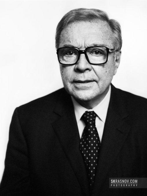 Krzysztof Zanussi, film director. Кшиштоф Занусси, кинорежиссер © Sasha Krasnov - Portrait Photographer