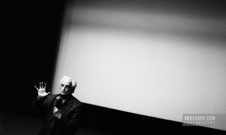 Marlen Khutsiev, film director. Марлен Хуциев кинорежиссер © Sasha Krasnov - Portrait Photographer