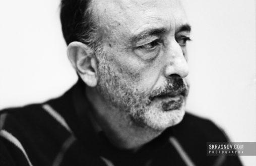 Roger Ballen, photographer. Роджер Баллен, фотограф © Sasha Krasnov - Portrait Photographer