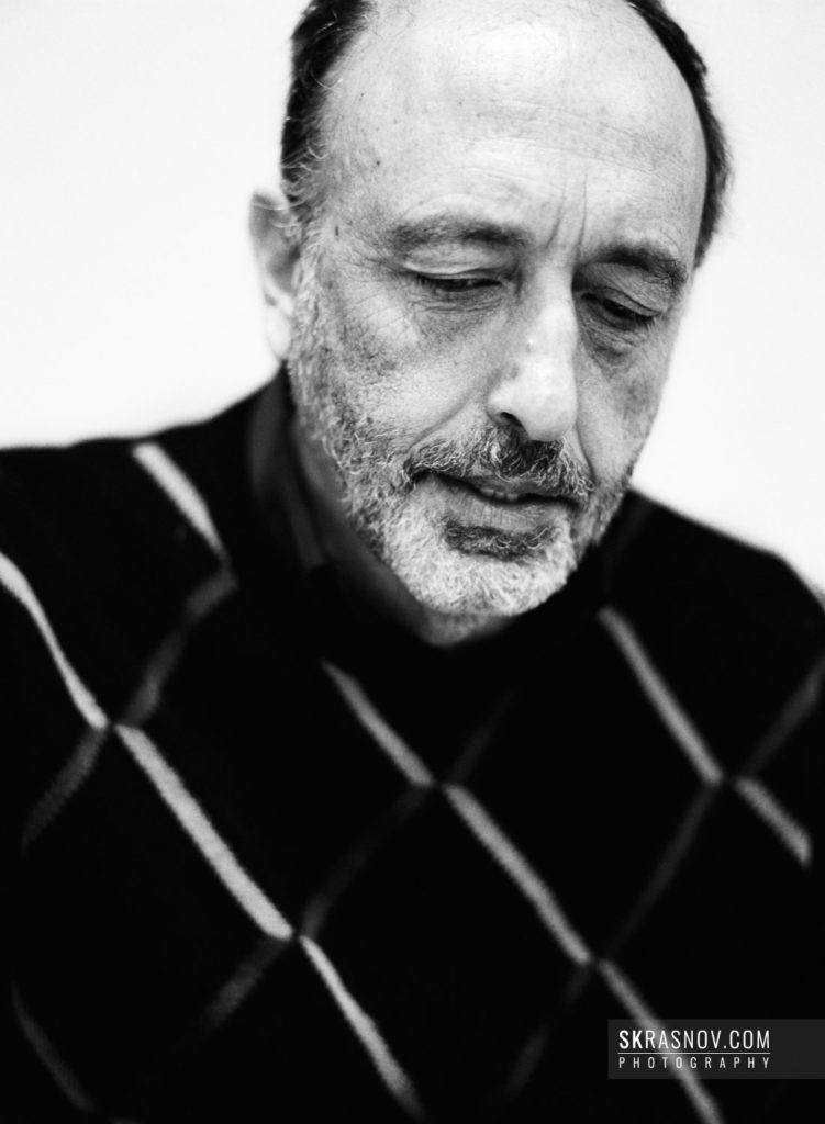 Roger Ballen, photographer. Роджер Баллен, фотограф © Sasha Krasnov - Portrait Photographer