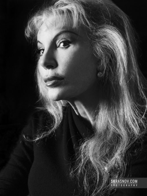 Donatella Flick, philanthropist. © Sasha Krasnov - Portrait Photographer