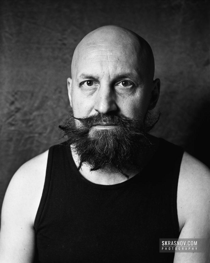 German Vinogradov, artist. Герман Виноградов, художник, музыкант, перфомансист © Sasha Krasnov - Portrait Photographer