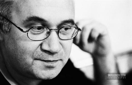 Ilya Kormiltsev, poet © Sasha Krasnov Photography