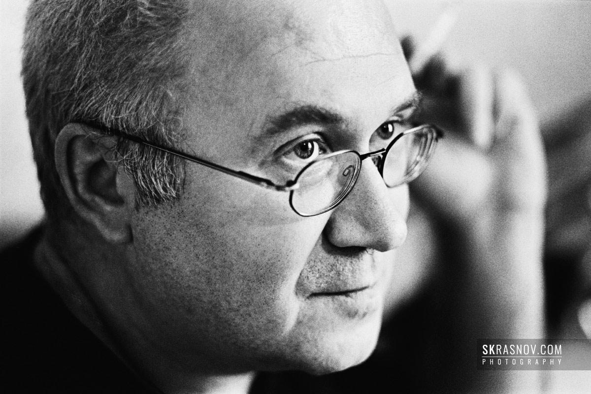 Ilya Kormiltsev, poet. Илья Кормильцев, поэт, переводчик и издатель. © Sasha Krasnov - Portrait Photographer