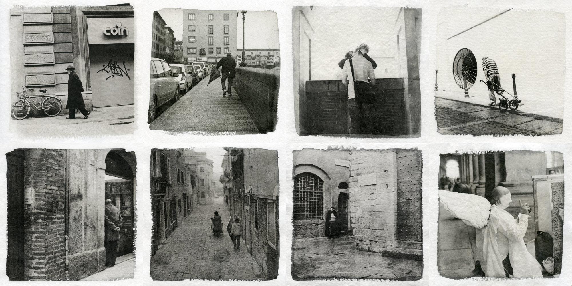Liquid emulsion prints - Street photography (c) Sasha Krasnov
