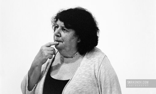 Marina Razbezhkina, documentary director. Марина Разбежкина, режиссер документального кино © Sasha Krasnov - Portrait Photographer