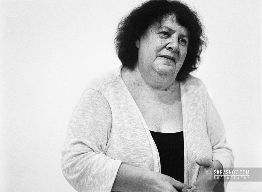 Marina Razbezhkina, documentary director. Марина Разбежкина, режиссер документального кино. © Sasha Krasnov - Portrait Photographer