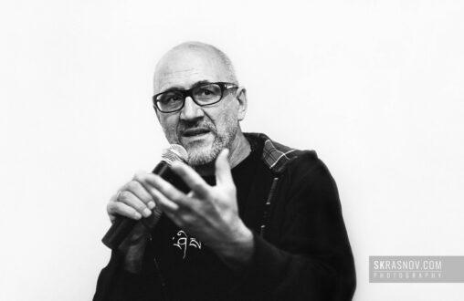Oleg Kulik, artist. Олег Кулик, художник, перфомансист © Sasha Krasnov - Portrait Photographer
