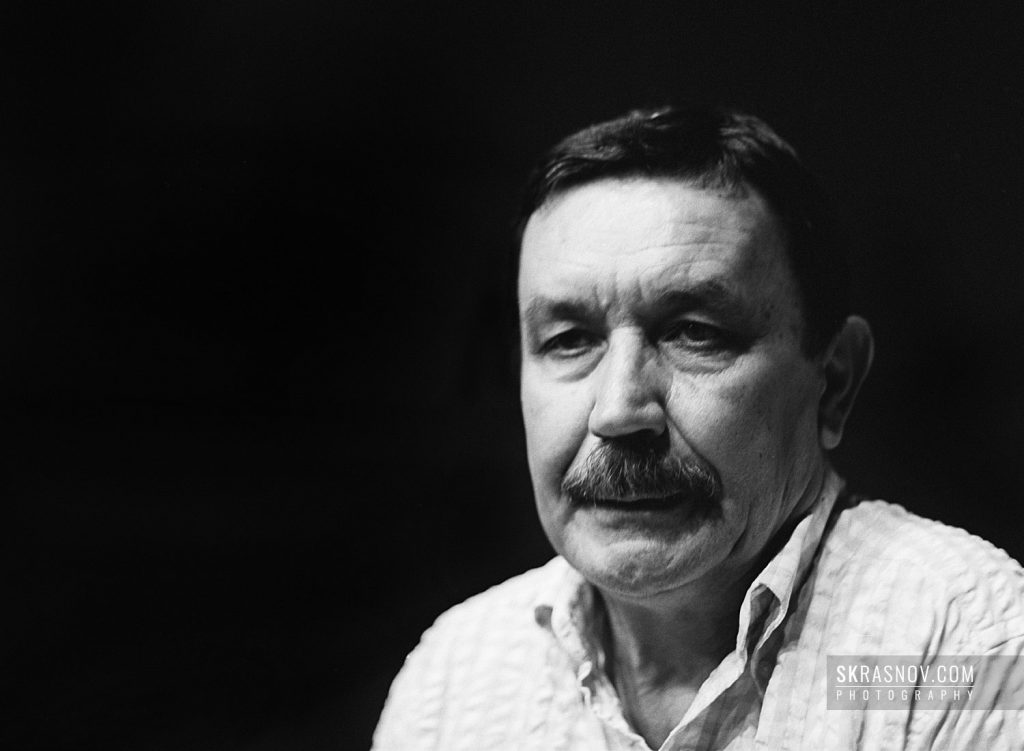 Vadim Abdrashitov, film director. Вадим Абдрашитов, кинорежиссер. © Sasha Krasnov - Portrait Photographer