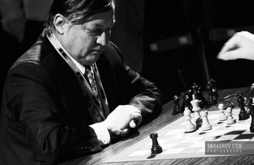 Anatoly Karpov, chess grandmaster and former World Champion © Sasha Krasnov Photography