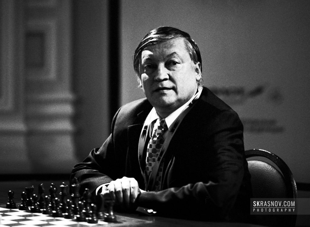 Anatoly Karpov, chess grandmaster and former World Champion. Анатолий Карпов, гроссмейстер, 12-й чемпион мира по шахматам. © Sasha Krasnov, 2007