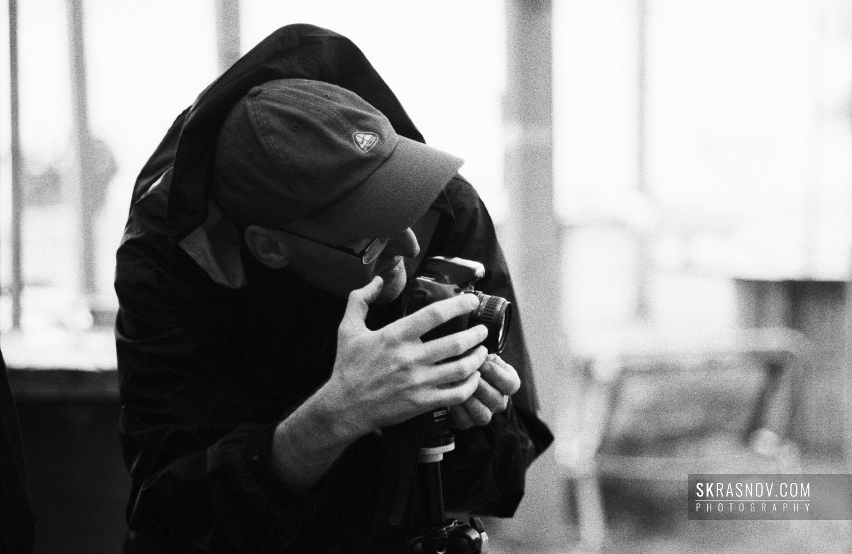 Igor Mukhin, photographer, featured portrait © Sasha Krasnov Photography