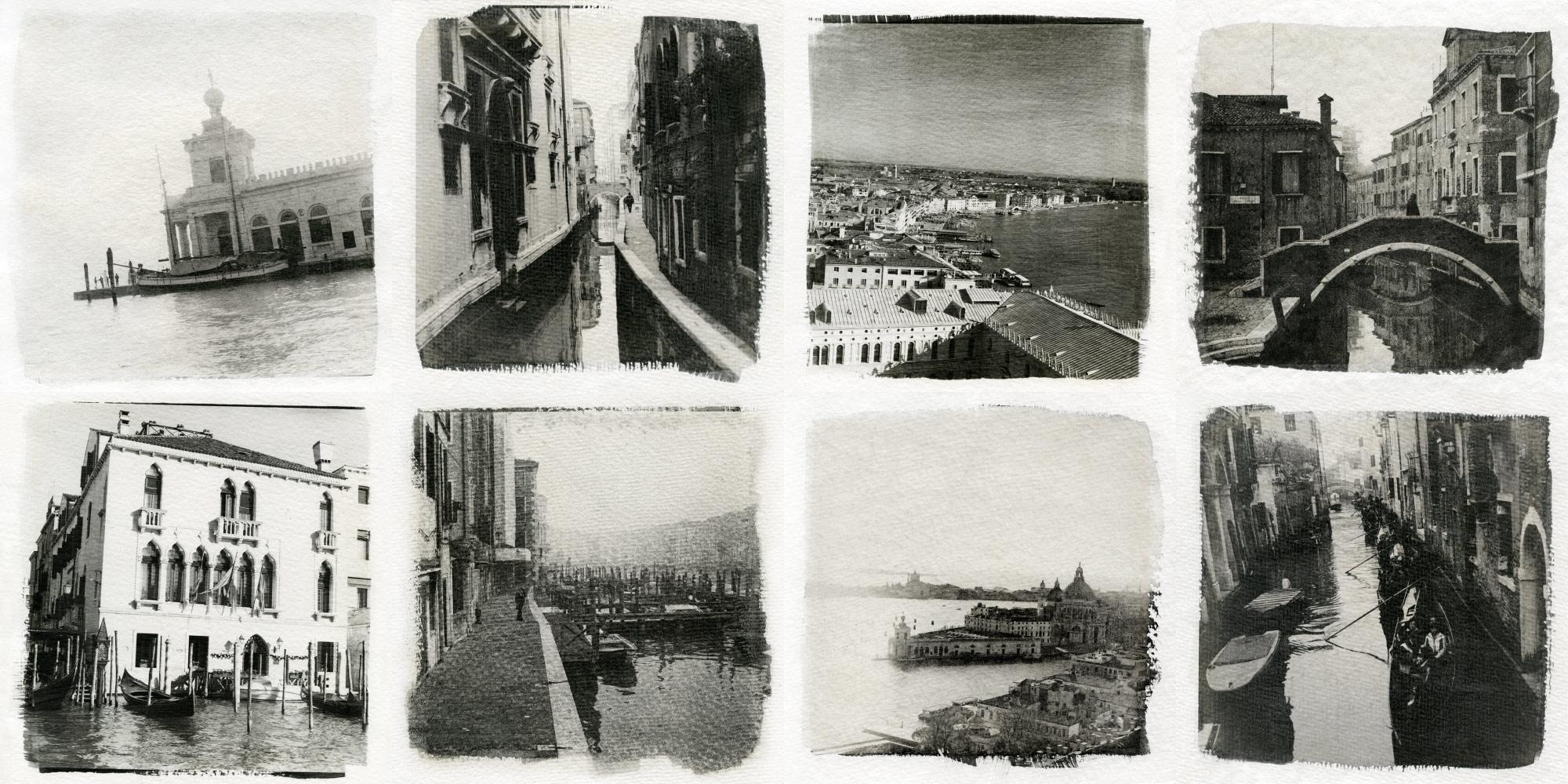 Liquid emulsion prints - Venice (c) Sasha Krasnov