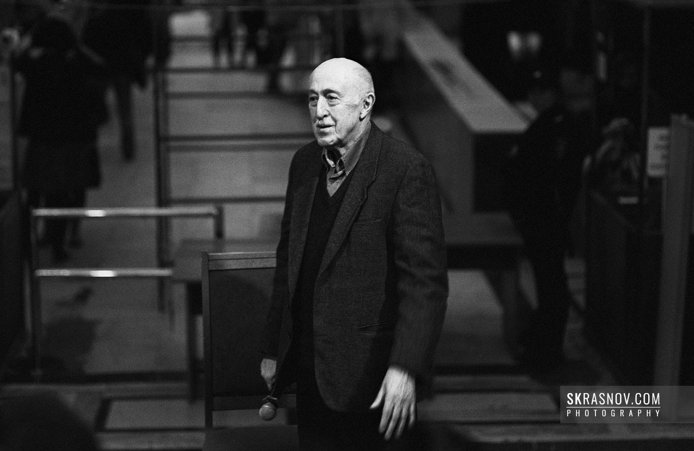 Otar Iosseliani, film maker. Отар Иоселиани, кинорежиссер. © Sasha Krasnov - Portrait Photographer