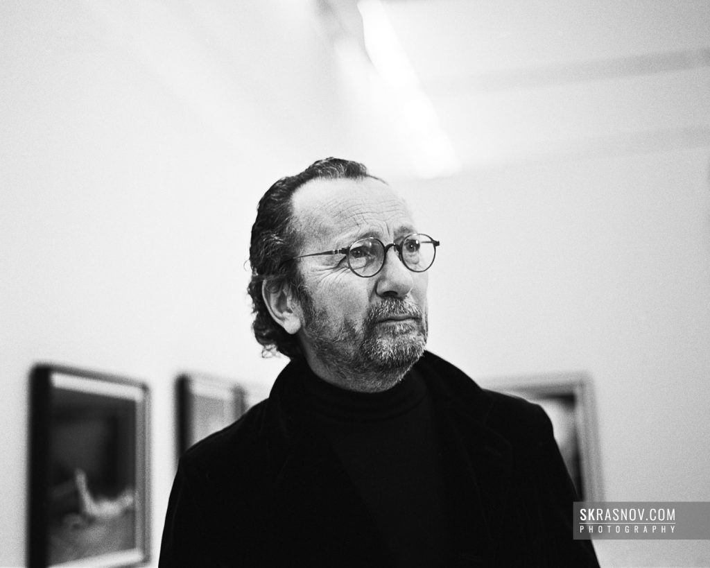 Paolo Roversi, photographer. Паоло Роверси, фотограф. © Sasha Krasnov - Portrait Photographer