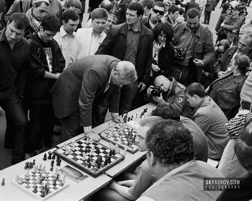 Garry Chess Kasparov, chess grandmaster and former World Champion. Гарри Каспаров, гроссмейстер, 13-й чемпион мира по шахматам. © Sasha Krasnov, 2010
