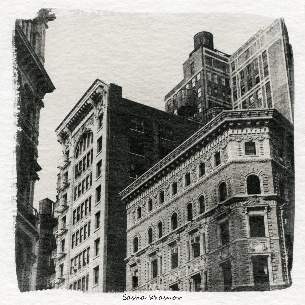 Architecture, New York // Photography print © Sasha Krasnov