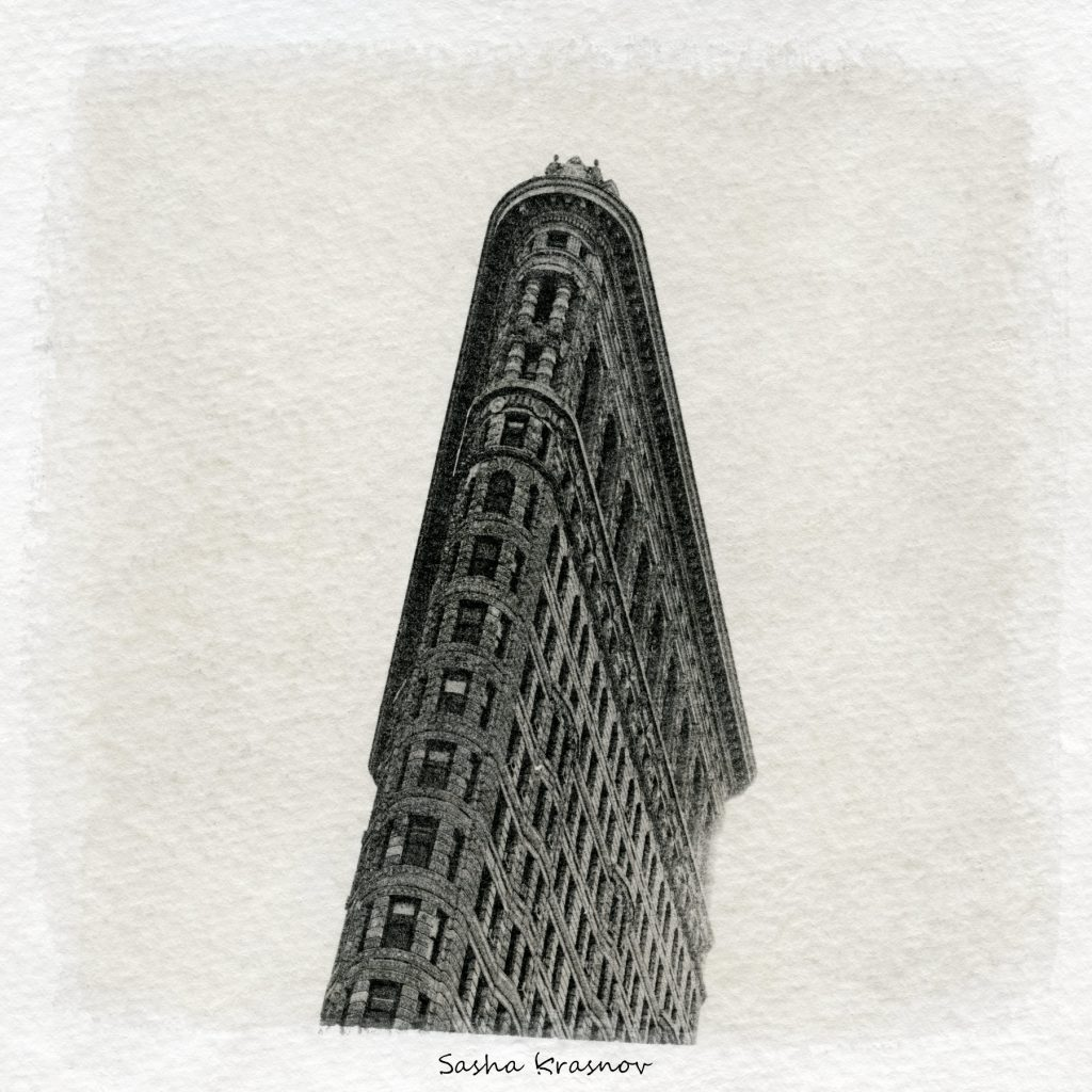 Flatiron Building, New York // Photography print © Sasha Krasnov