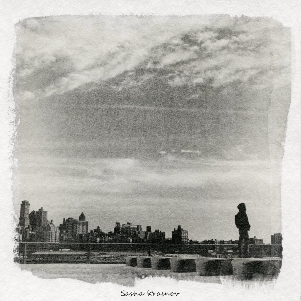Skyline East River. New York // Photography print © Sasha Krasnov