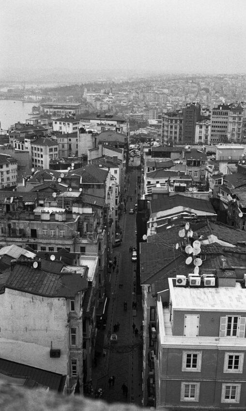 Yashica Electro 35 GL, Ilford Pan 400 #18, Istanbul, Constantinople © Sasha Krasnov Photography