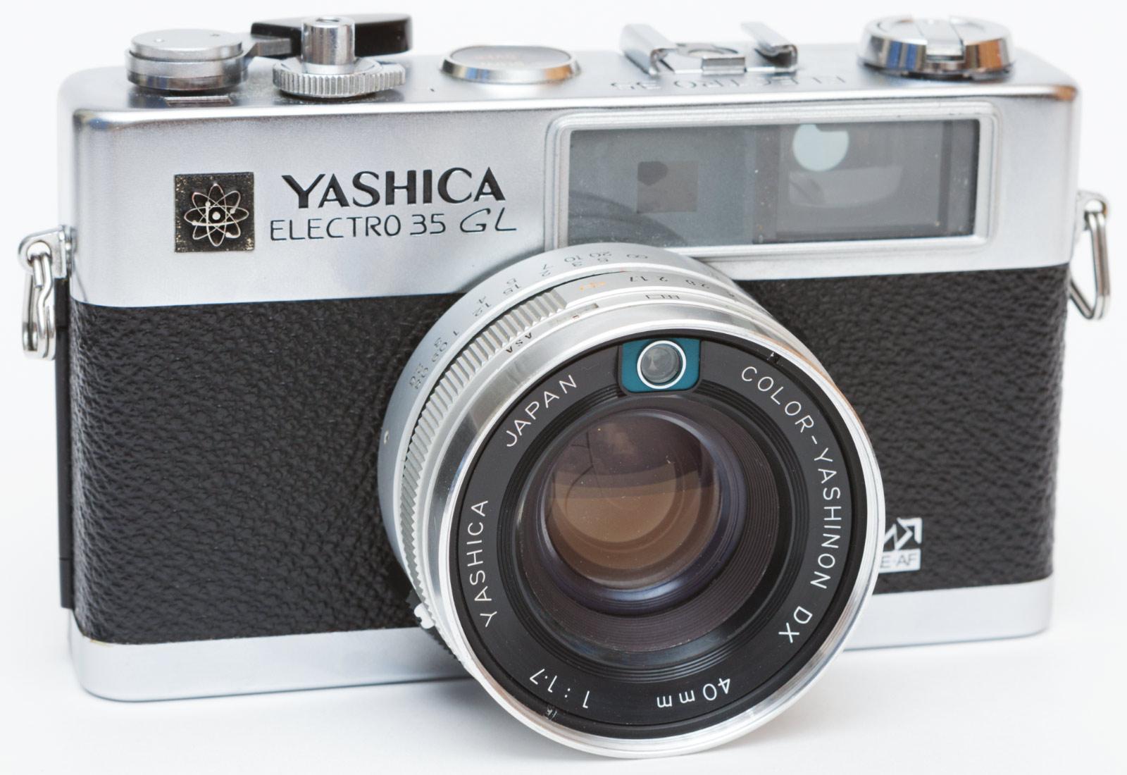 Yashica Electro 35 GL © Sasha Krasnov Photography