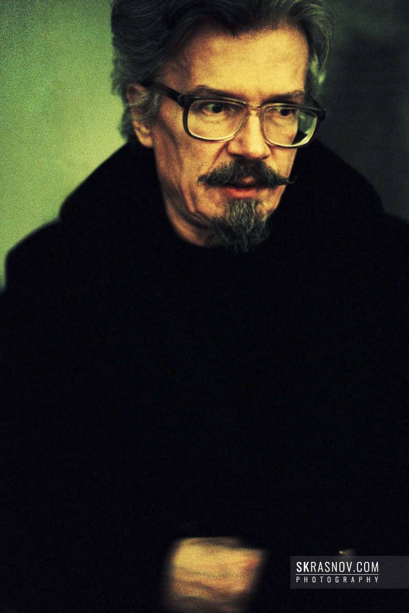 Eduard Limonov, writer and political dissident. Эдуард Лимонов, писатель, поэт, публицист © Sasha Krasnov - Portrait Photographer