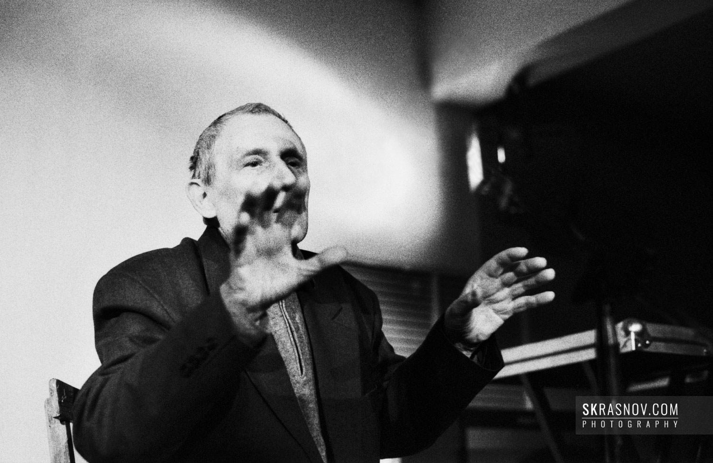 Yuri Mamleev, writer and philosopher © Sasha Krasnov Photography