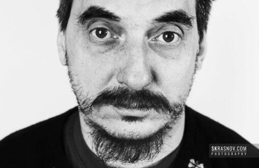 Dmitri Vrubel, artist. Дмитрий Врубель, художник © Sasha Krasnov