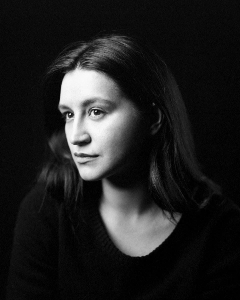 Ekaterina Gracheva, actress, b&w studio portrait © Sasha Krasnov - Photography